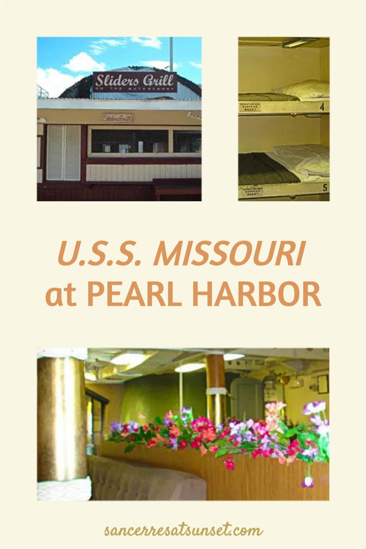 U.S.S. Missouri at Pearl Harbor