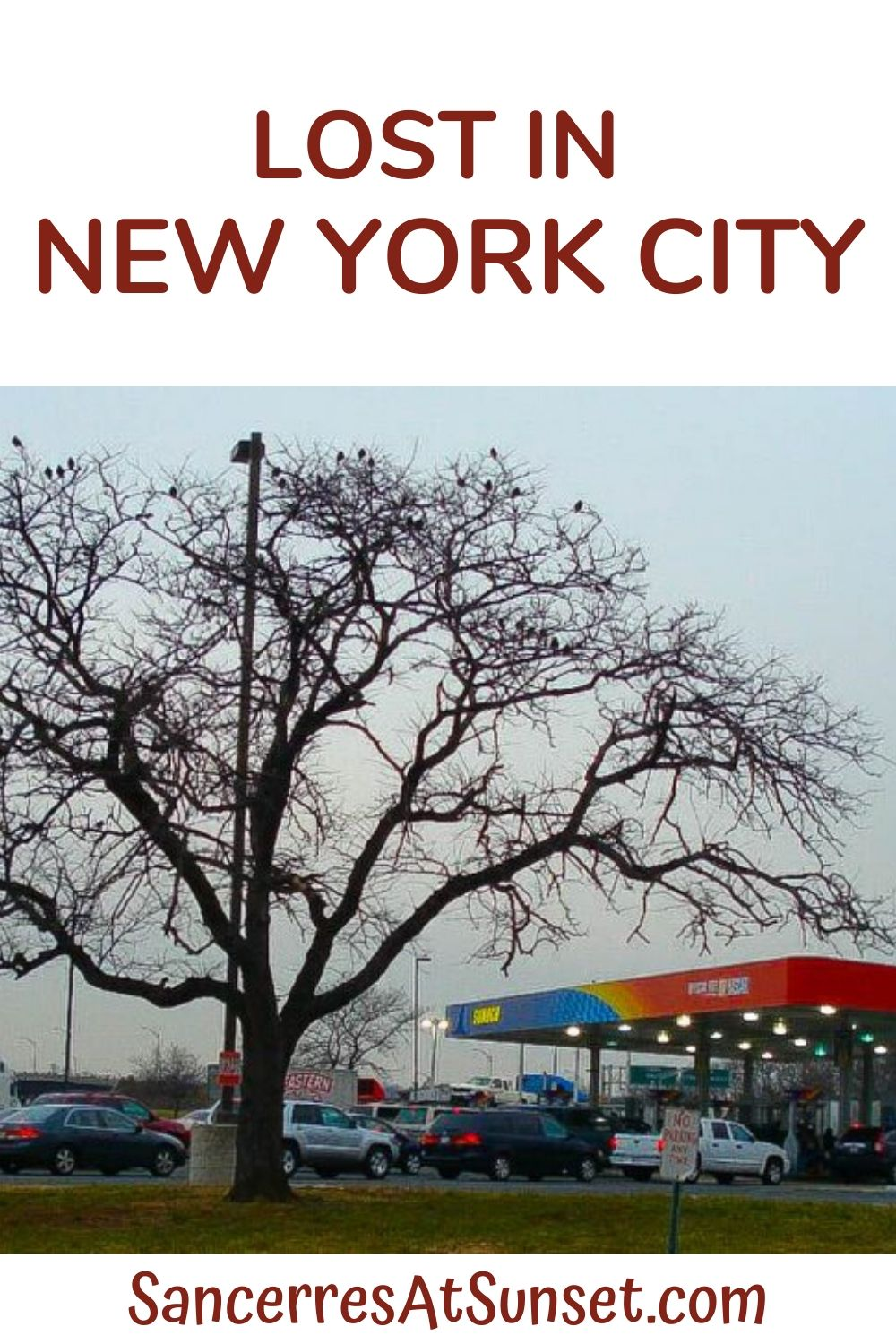 Lost in Queens.  And Brooklyn.  Manhattan, the Bronx, and Staten Island too.