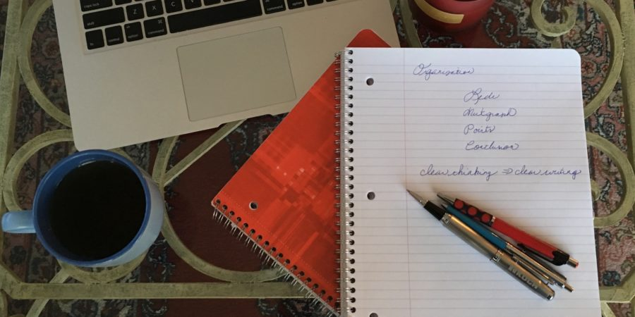 How to Write Well: Organization