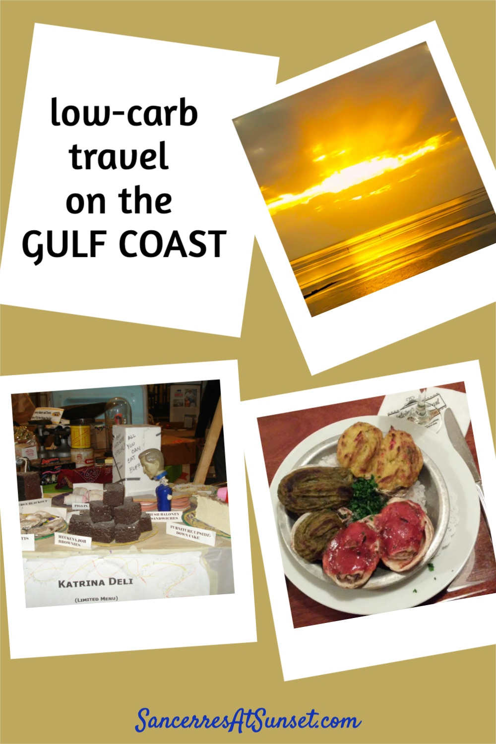 Low-Carb (Sort Of) Along the Gulf Coast