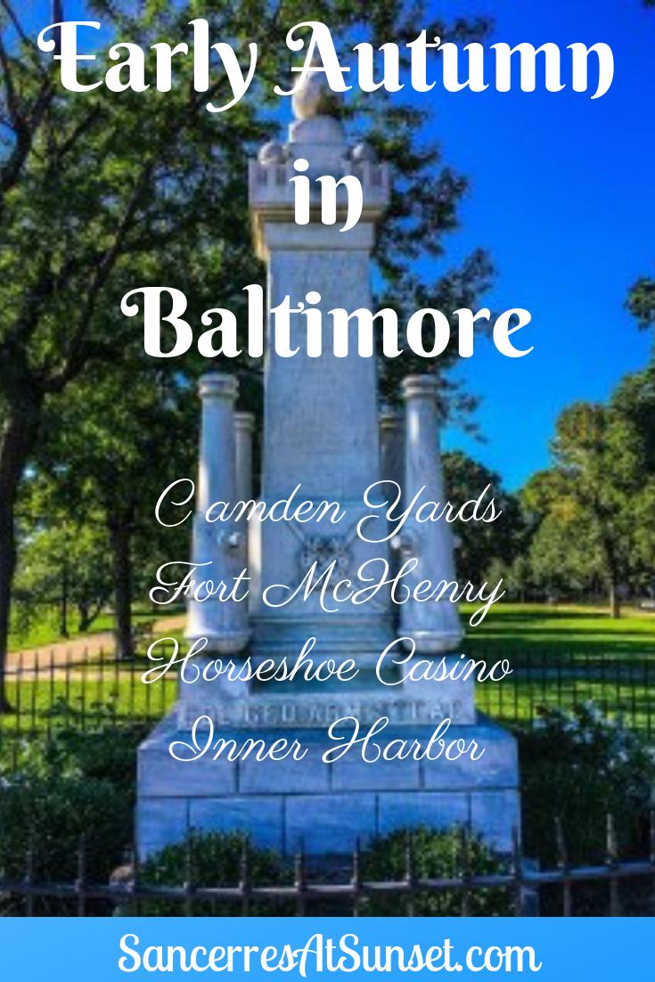 Between Seasons in Baltimore