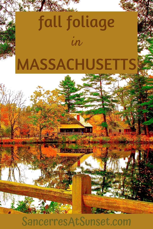 Fall Foliage in Massachusetts