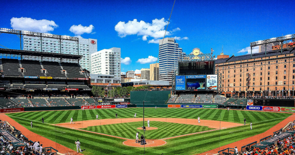 Oriole Park at Camden Yards, Baltimore