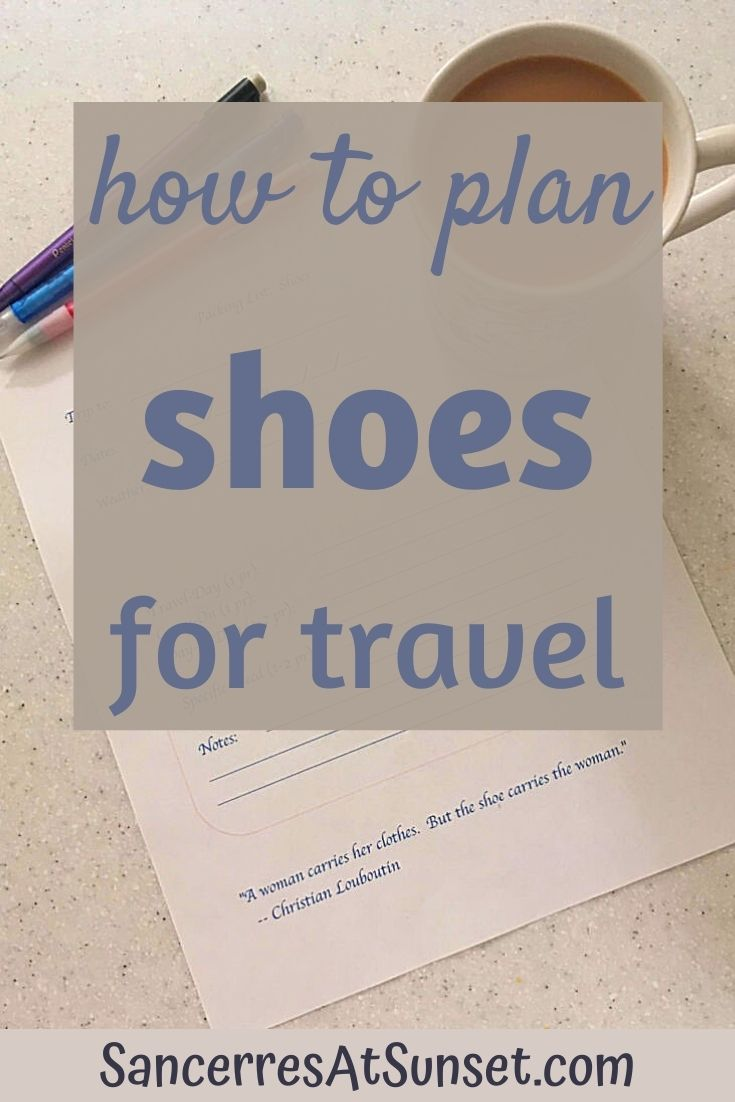 How to Plan and Pack Your Shoes for Travel