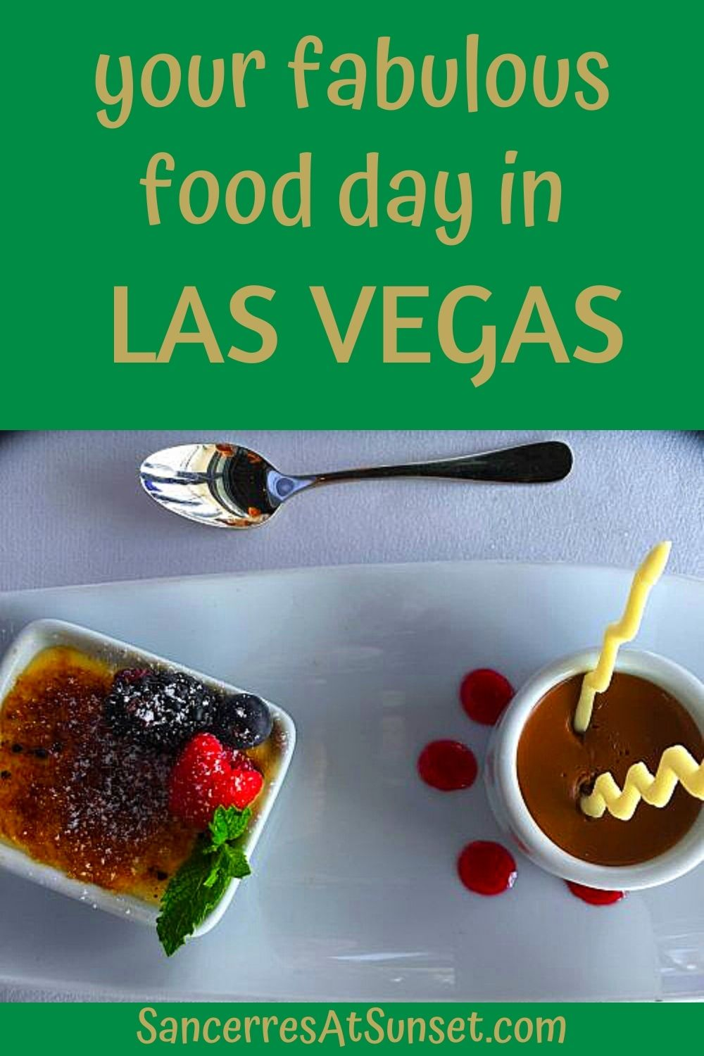 Your Fabulous Food Day on the Vegas Strip