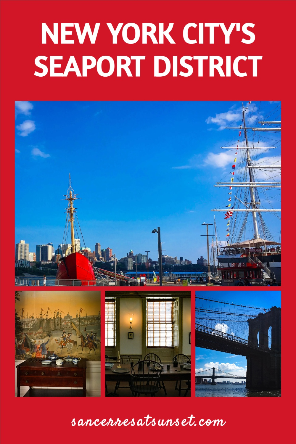 A Mid-Summer Night\'s Stay in New York City\'s Seaport District