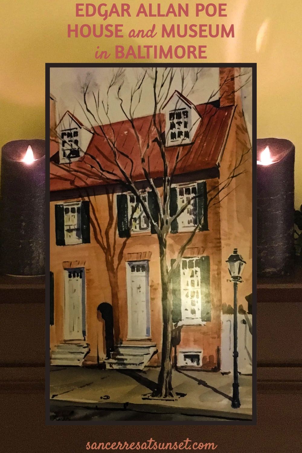 Edgar Allan Poe House and Museum in Baltimore