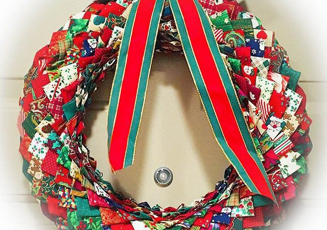 quilted wreath
