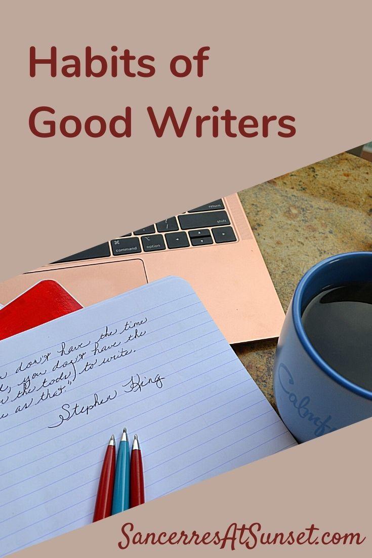 8 Habits of Good Writers