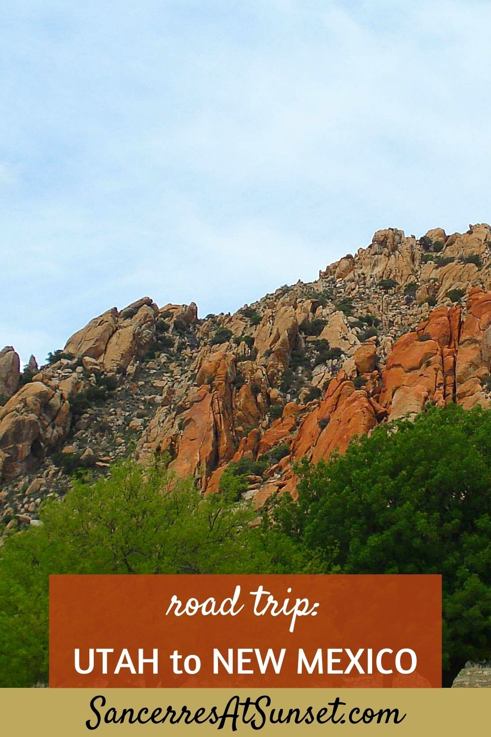 Utah to New Mexico:  Cross-Country Road Trip, Part 3