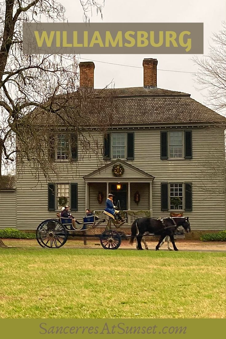 Colonial Williamsburg:  Cross-Country Road Trip, Part 8