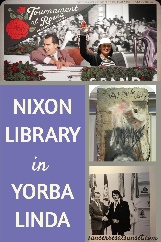 Nixon Library in Yorba Linda, California