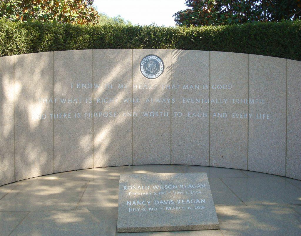 Reagan Grave