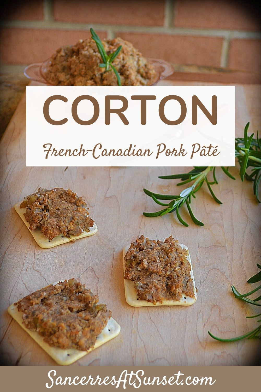 Corton, French-Canadian Pork Pâté