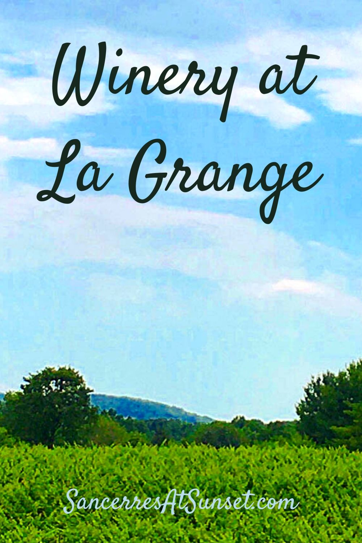 Reopening Report:  Winery at La Grange