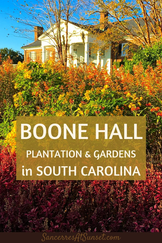 Boone Hall Plantation & Gardens in South Carolina