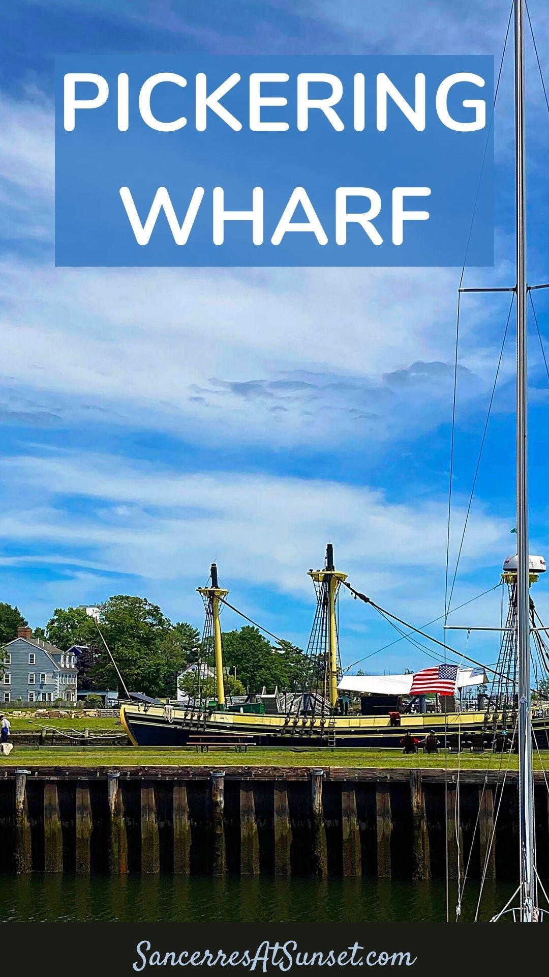 Where to Eat on Pickering Wharf in Salem, Massachusetts